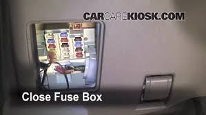 interior fuse box location 1995 2004 toyota tacoma 2003 toyota interior fuse box location 1995 2004 toyota tacoma 2003 toyota tacoma pre runner 2 7l 4 cyl extended cab pickup 2 door