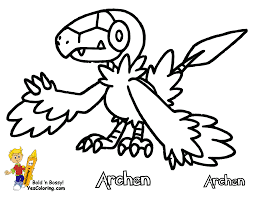 Small Picture Powerful Pokemon Coloring Pages Black And White Sigilyph