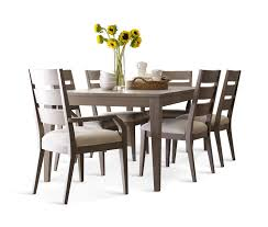 dining arm chairs. Interesting Arm Highline Leg Table With 4 Ladderback Dining Chairs And 2 Arm  M