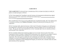 Contract Template Word Fascinating Media Contract Template Social R Agreement Best Of Management