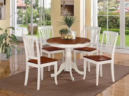 White Round Kitchen Table Kitchen Table Stunning White Kitchen Table Chairs White Round