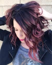 Dusty Lavender Violet Hair For Brunettes