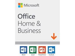 Office Dowload Microsoft Office Home And Business 2019 1 Device Windows 10 Pc