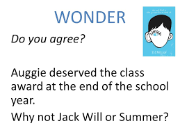 Quotes from wonder