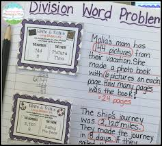 long division anchor chart teaching with a mountain view teaching long division
