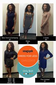 challenge get interview outfits from goodwill for snagajob professional on a budget