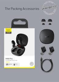 Tai nghe không dây TWS Baseus Encok True Wireless Earphones WM01 Plus - Phụ  kiện điện thoại, xe hơi, tiện ích thông minh BASEUS | Đại lý ủy quyền chính  thức