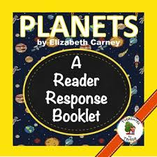 national geographic kids planets reader response booklet