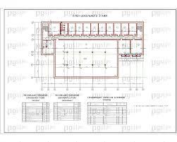 Скачать бесплатно дипломный проект ПГС Диплом № Спортивный  4 План цокального этажа jpg