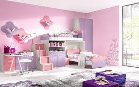 kids bedroom furniture with desk. Kids Bedroom Furniture Sets In Pink And Purple With Murphy Bed Made Of Wood Study Desk Also Tall Stand Cupboard