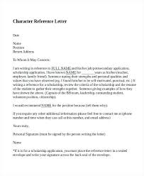 Immigration Letter Of Recommendation Sample Samples A Character Letter Good For Job Of Awesome Tojson