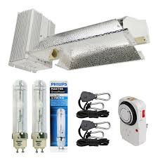 Cdm Grow Light Details About Hydro Crunch 630w Cmh Cdm Grow Light Fixture W Philips 3100k Full Spectrum Bulb