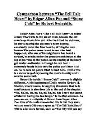 comparison between the tell tale heart by edgar allan poe and prose fiction acircmiddot edgar allan poe page 1 zoom in