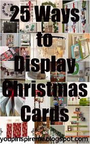 Christmas Card Display Stand Ways To Display Christmas Cards You Pinspire Me 46