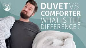 duvet vs comforter what s the difference