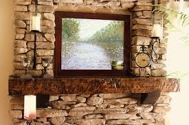 shaw wood mantle design california