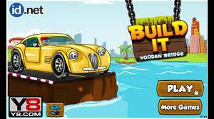 Wooden Bridge Game build it wooden bridge Level 100 100 online funny games YouTube 42