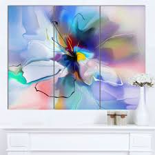 shop designart abstract creative blue flower extra large floral wall art on sale free shipping today overstock 13614792 on large blue flower wall art with shop designart abstract creative blue flower extra large floral