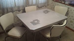 1950 s kitchen table and chair set 1 of 3only 1 available