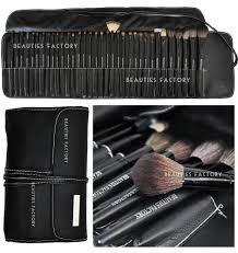 professional makeup kits. bf 35 pcs professional makeup brushes set (all-time artist pure black) az811   ebay kits n