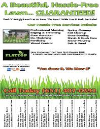 lawncare ad landscaping flyer templates mowing flyers lawn care flyers examples