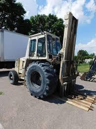 Ingersol Rand Forklift 8000lb Ingersoll Rand Rt708g Rough Terrain Forklift Jb Equipment