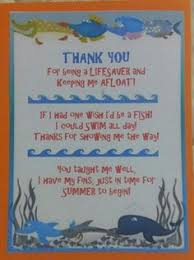 A School Of Swimming Thank You Letters! | Craft | Pinterest ...