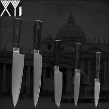 """<b>XYJ</b> 8 inch chef slicing 7"""" chopper 7"""" 5"""" santoku 5"""" utility knife 440C ..."""