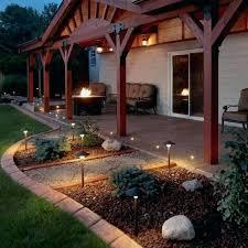 landscaping light sets electric pathway lights string set of low voltage garden