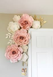 007 pink flower wall decor unique and gold fl foam 728