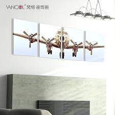 plane wall decor on airplane canvas wall art canada with plane wall decor left handsintl
