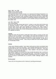 Resume Personal Statement Examples CV Resume Ideas