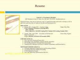Medication Administration Certification Entry Level Resume Sample ...