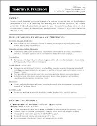 Formats Of A Resume Mesmerizing Resume Writing Format Examples Of Summary Of Qualifications For Resume