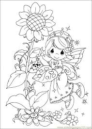 Small Picture precious moments fairy painting coloring page 2 Coloring