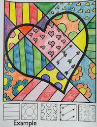 Small Picture FREE Pop Art heart lesson from Art with Jenny K Great