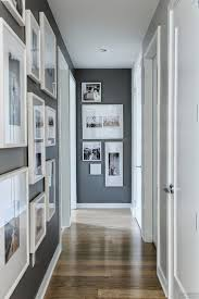 Hallway Wall Ideas Wall Beside White Dining Table Set Small Entrance Hallway Wall