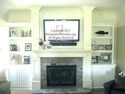 tv over fireplace ideas mounting a over a fireplace over brick fireplace ideas mounting above brick