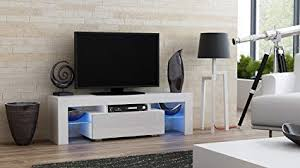 TV Stand MILANO 130  Modern LED Cabinet Living Room Furniture Tv Console