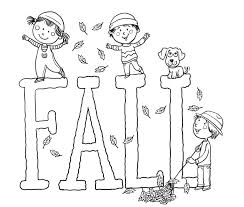 Small Picture Download Coloring Pages Fall Kids Coloring Pages Fall Coloring