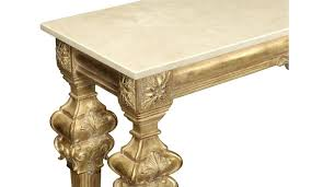 hand carved console table 593550