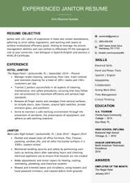 ressume examples 80 free professional resume examples by industry resumegenius