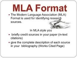 Research Essay Mla Format The Research Paper Mla Format In Text Citations And Citing Sources