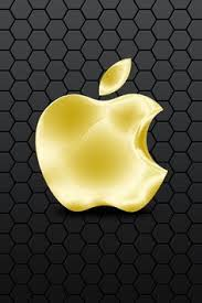 apple logo wallpaper gold. wallpaper for iphone apple logo gold l