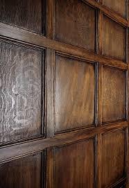 oakleaf replica wood panels faux