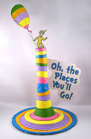 oh the places you ll go decoration