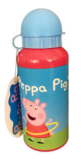 Peppa Pig Bedroom Accessories Pig Aluminium Drink Bottle 400ml
