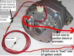 cs alternator wiring diagram cs image wiring diagram one wire alternator wiring diagram wiring diagrams on cs alternator wiring diagram