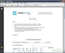 free online divorce papers   Divorce Document Sales Report Template Free Legal Divorce Forms   legal divorce papers