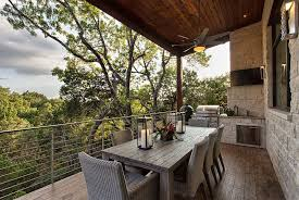 deck ideas. Simple And Ergonomic Deck Design For The Rustic Austin Home [Design:  Cornerstone Architects] Ideas